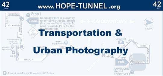 HopeTunnel.org Transportation & Urban Photography