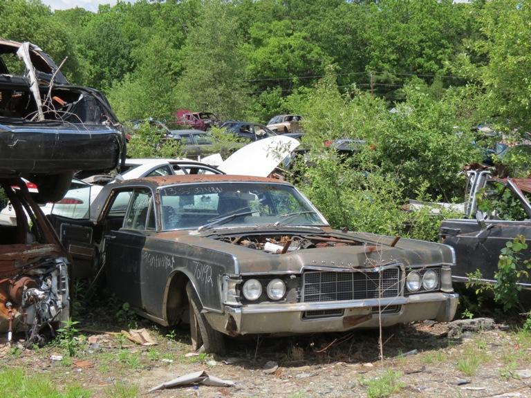 Hood hinge area rust issues 69lincoln