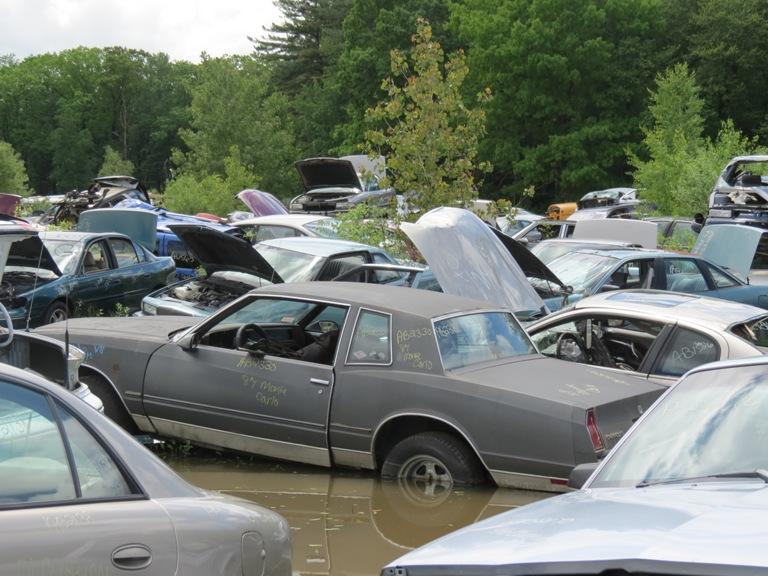Hood hinge area rust issues 87monte
